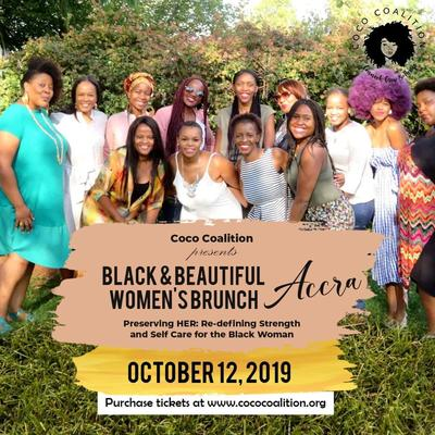 Accra- Coco Coalition Presents Black & Beautiful Women's Brunch