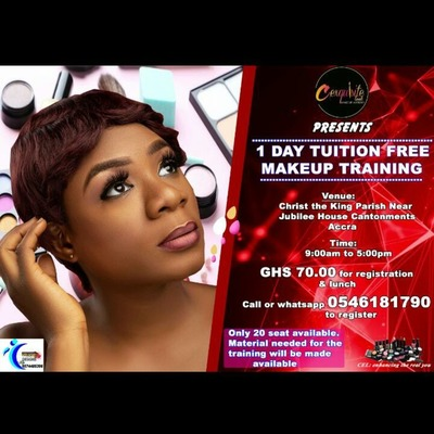 1 Day Tuition Free Makeup Training