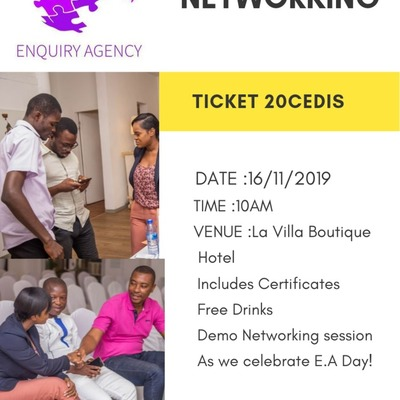 ENQUIRY AGENCY  NETWORKING  WORKSHOP