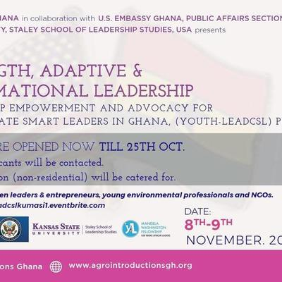 Youth Leadership Empowerment and Advocacy Training, Kumasi (Professional)
