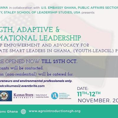 Youth Leadership Empowerment and Advocacy Training, Kumasi (Students)