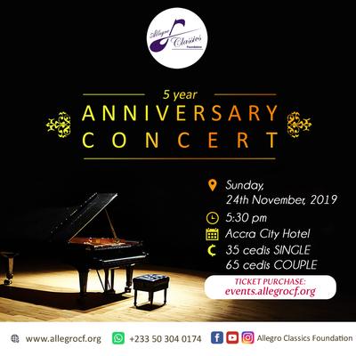 5-year Anniversary Concert