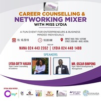 CAREER Counselling & NETWORKING Mixer With Miss LYDIA