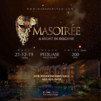 "Masoiree (Mask Party Gh) ""A Night in Disguise"""