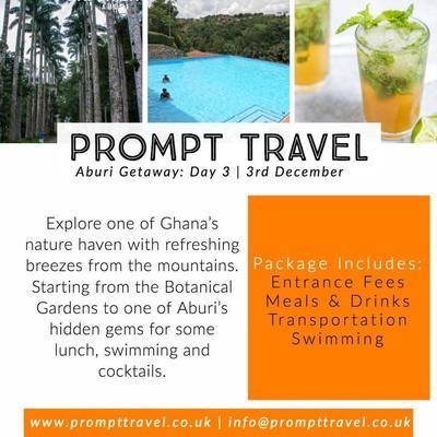Experience Ghana: Aburi Getaway