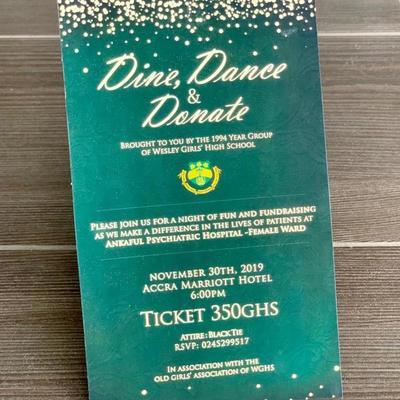 Wey Gey Hey 50th Anniversary Fundraising Dinner Dance
