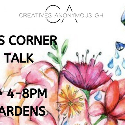 Creatives Corner Sip & Talk : Mental Health Project