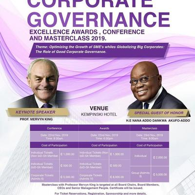 Corporate Governance Excellence Awards, Conference