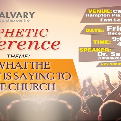 One-Day Prophetic Conference