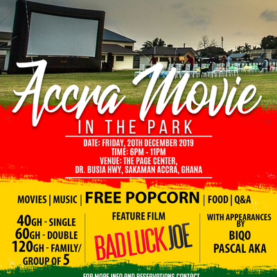 ACCRA MOVIE IN THE PARK