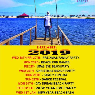 2019 Xmas Beach Party