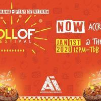 Jollof Festival, Accra - Jan 1st