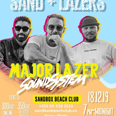 Major Lazer Soundsystem Live @ Sandbox