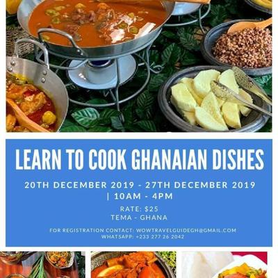 My year of Return Ghana Food Cook Out
