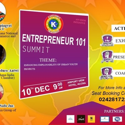 ENTREPRENEUR 101 SUMMIT