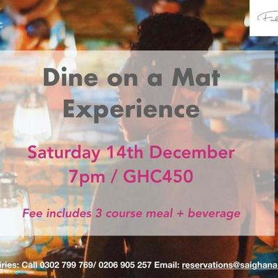 Dine on a Mat with Chef Binta