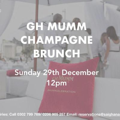 GH Mumm Brunch Party