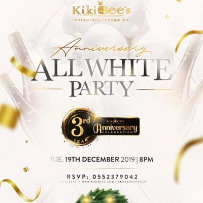 Kikibees All White Party