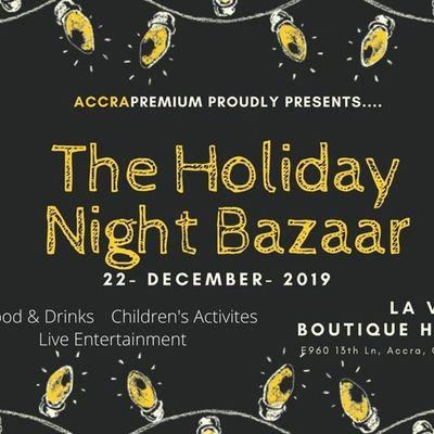 Holiday Night Bazaar 2019