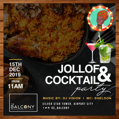 Jollof & Cocktail Party