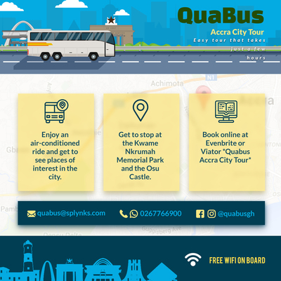 Quabus Accra City Tours