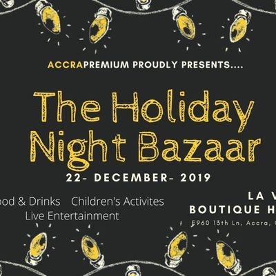 The Holiday Night Bazaar