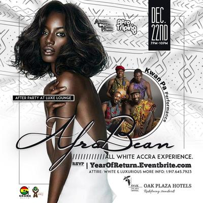 AfroBean | All White Accra Experience