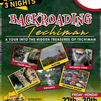 4 Days and 3 Nights backroading Techiman