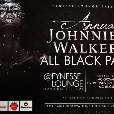 Johnnie Walker All Black Party
