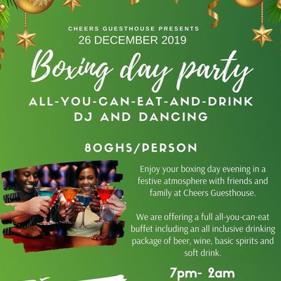 Boxing day party @ Cheers Guesthouse