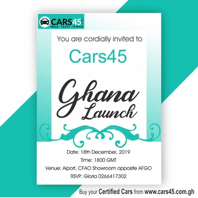 Cars45 Ghana Launch