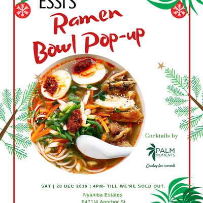 Ramen Bowl Popup by Essi's Eatery