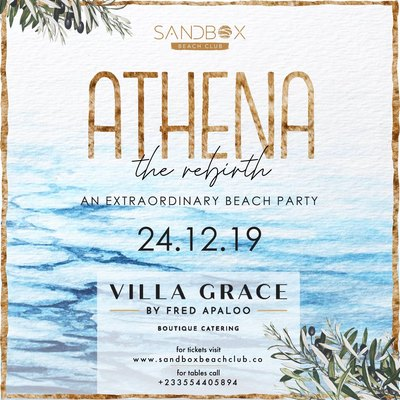 Athena - The Rebirth @ The Sandbox Beach Club
