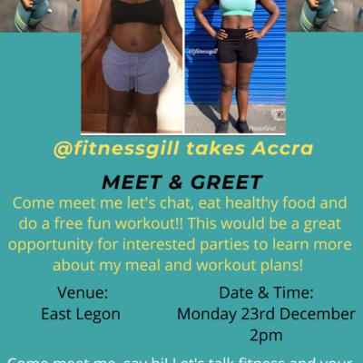@Fitnessgill Meet and Greet