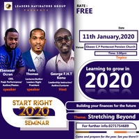 Leaders Navigators Group - How to Start Right in 2020