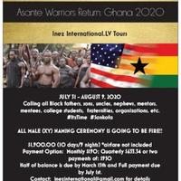 Asante Warriors Return: Ghana 2020