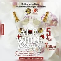 HUSTLE IN MOTION ☆☆《ALL WHITE PARTY》☆☆