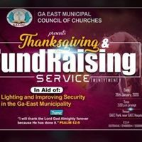 Thanksgiving & Fundraising Service