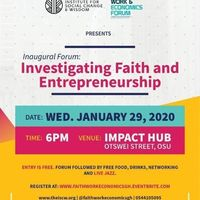 Investigating Faith & Entrepreneurship