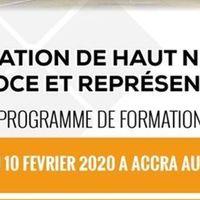 FORMATION DE HAUT NIVEAU EN NÉGOCE ET REPRÉSENTATION AU GHANA