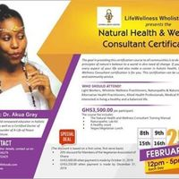 Natural Health & Wellness Consultant Certification