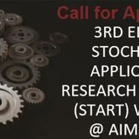 Stochastic & Applications, Research & Training (Start) Workshop