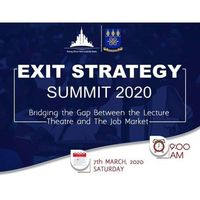 Exit Strategy Summit 2020 University Of Ghana