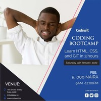 Lagos Coding Bootcamp(HTML/CSS/GIT)