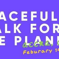 Peaceful Walk for the Planet and Tree Planting Event in Accra