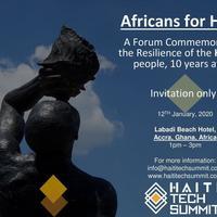 Haiti 2020- #AfricansForHaiti