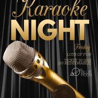 Karaoke Night at Blue Moon