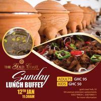 Sunday Lunch Buffet @thegoldcoastaccra