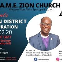 A.M.E Zion Church - Ashaiman District Inauguration