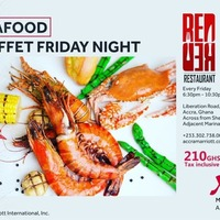 Seafood Buffet Friday with Live Band Music